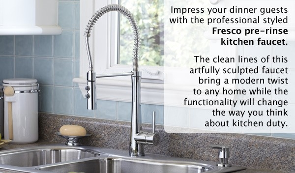 Giagni Fresco Pulldown Kitchen Faucet
