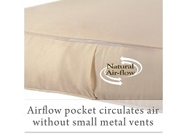Airflow Pockets for Freshness Image