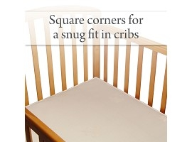 Fits USA Standard-Size Cribs and Toddler Beds Image