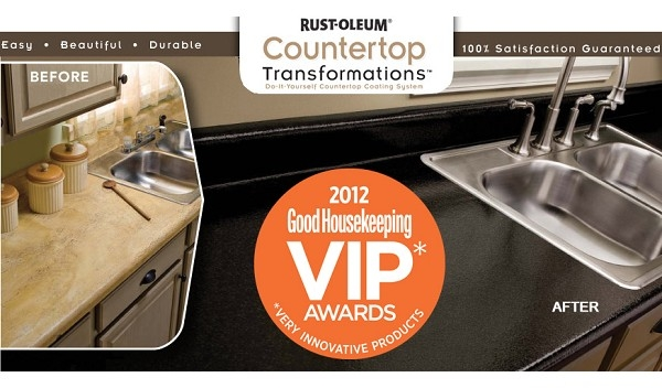 Rustoleum Countertop Paint Smell : Rust-Oleum Countertop Transformations