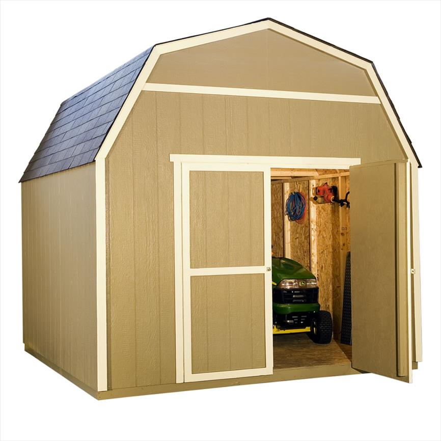 View 10x10 rainier storage shed by heartland for Garden shed 10x10