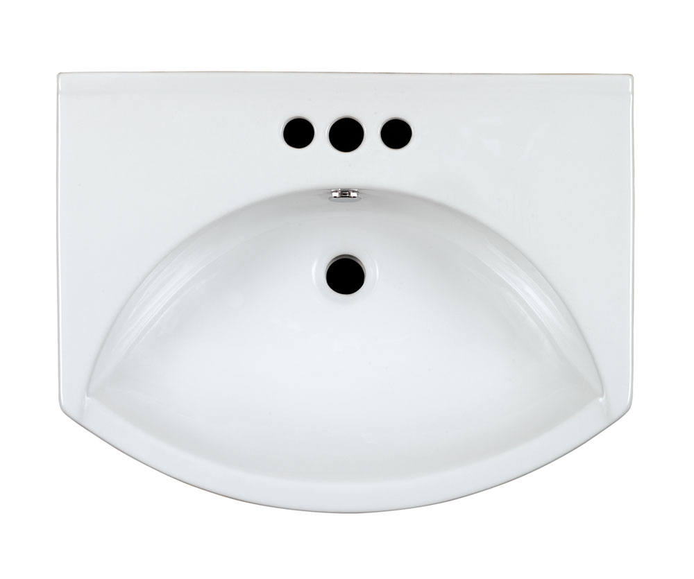 Double Vitreous China Ceramic Basins Image