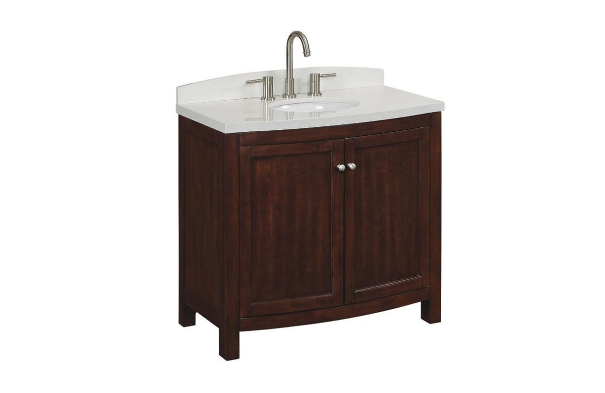 Allen roth moravia bath vanity collection for Allen and roth vanity cabinets