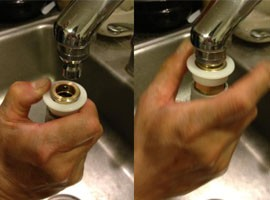 Washers that hook up to your sink