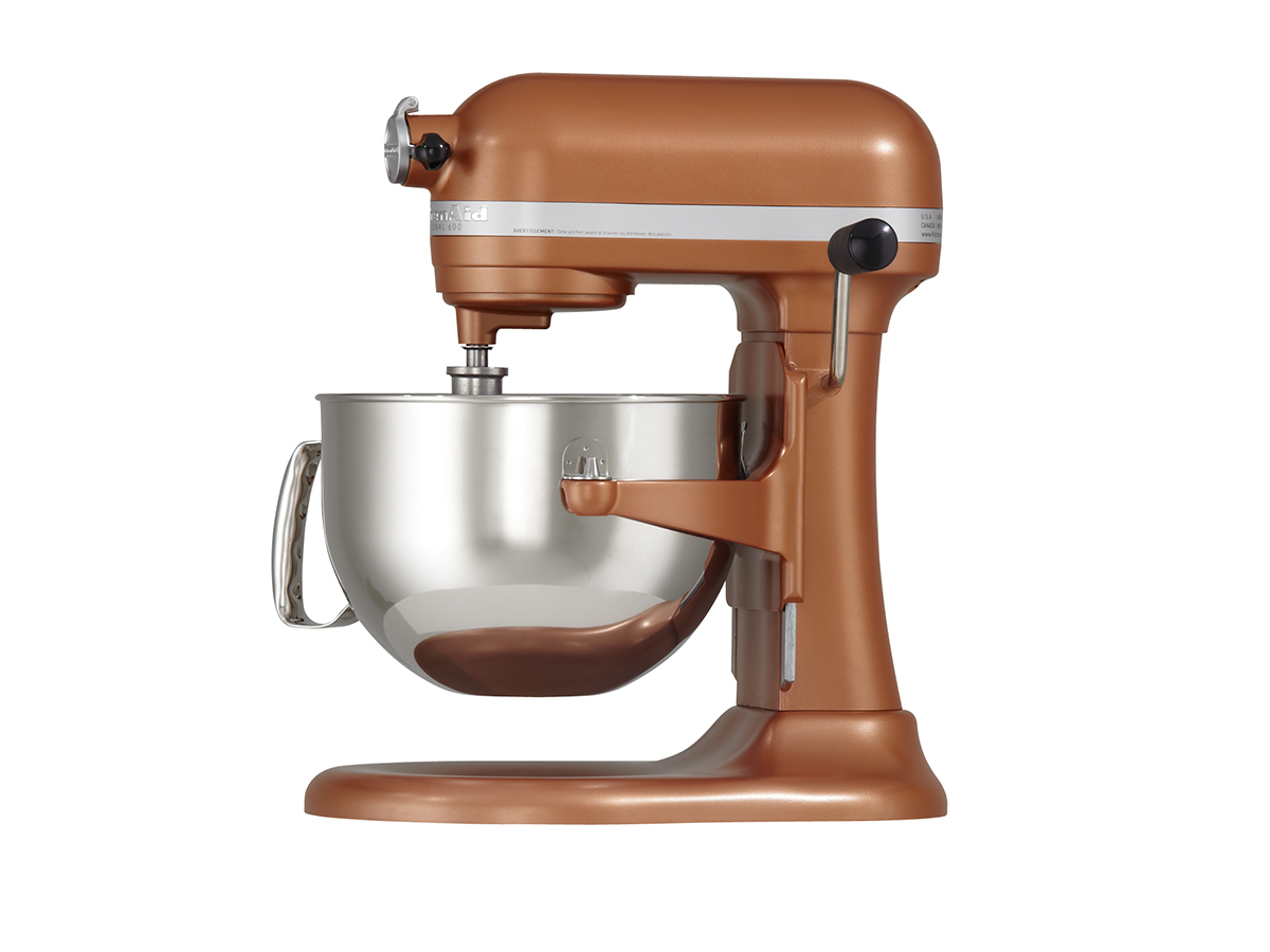 Kitchenaid kp26m1x professional 600 series 6 quart bowl lift stand mixer - Copper pearl kitchenaid mixer ...
