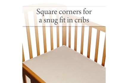 Square Corners for a Snug Fit in Cribs