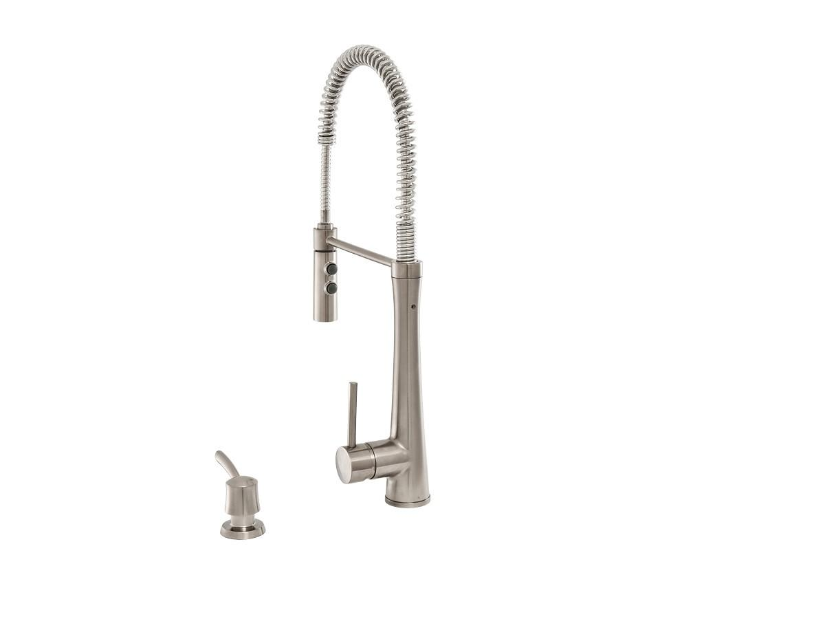 Giagni Fresco Pulldown Kitchen Faucet Pd Ss