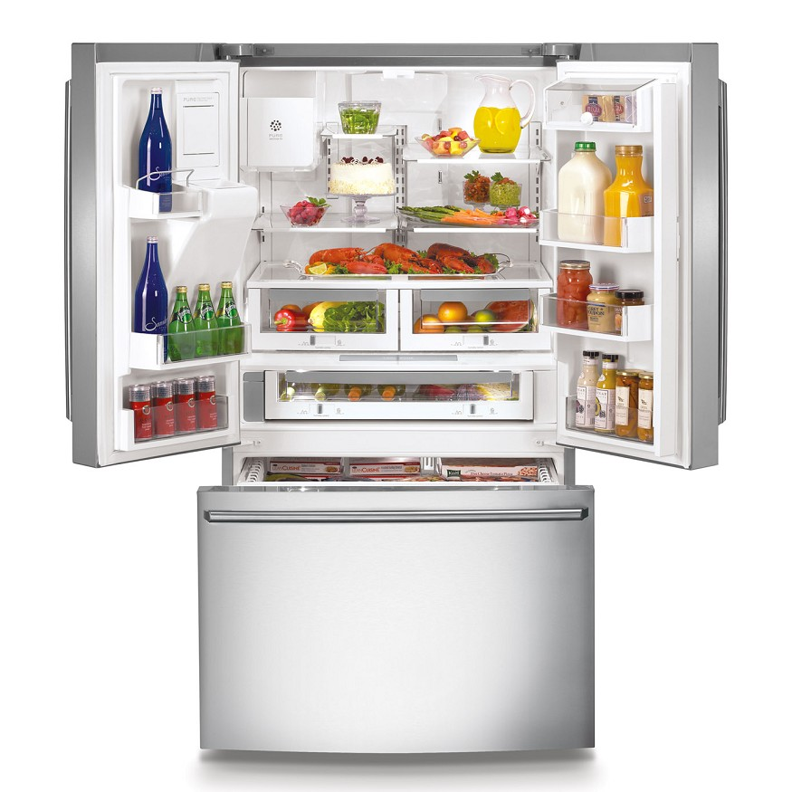 electrolux refrigerator counter depth. electrolux® counter-depth french door refrigerator with wave-touch™ controls (stainless) model: ew23bc71is electrolux counter depth