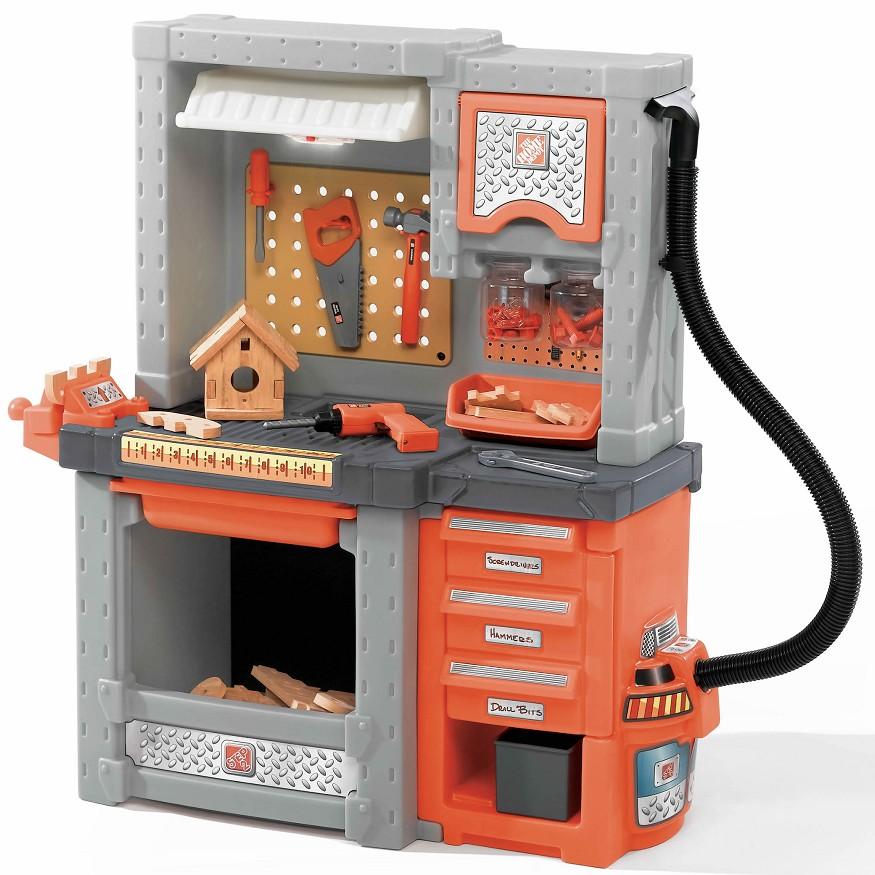 step2 home depot deluxe workstation