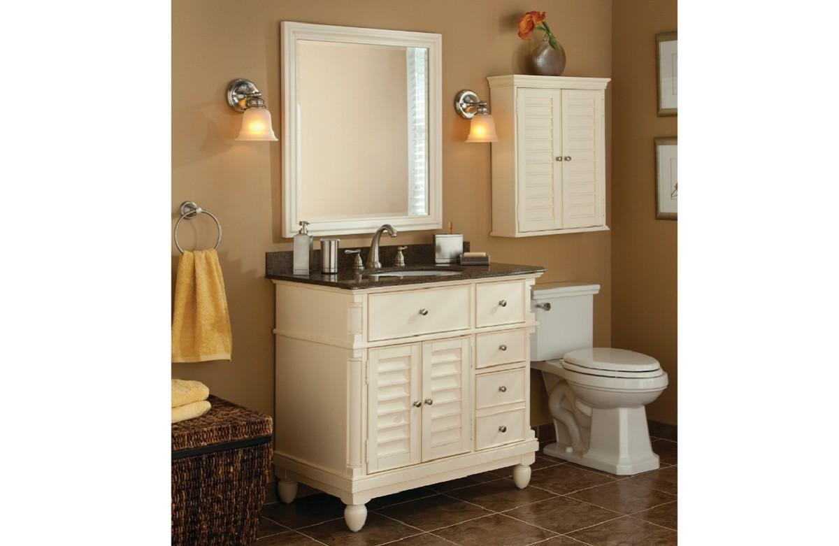 Allen And Roth Bathroom Cabinets Fanti Blog