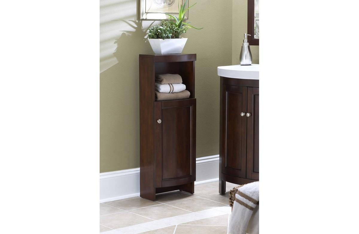 Allen and roth moravia linen cabinet cabinets matttroy - Allen roth bath cabinets ...
